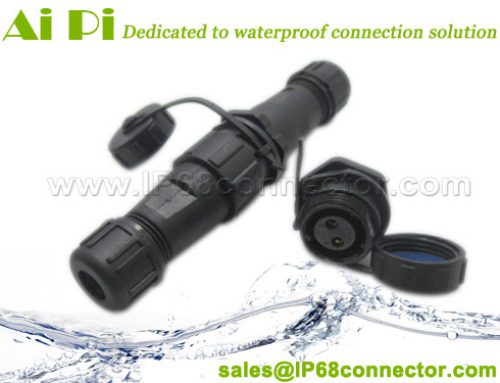 PW-21: IP68 Waterproof Circular Cable Connector