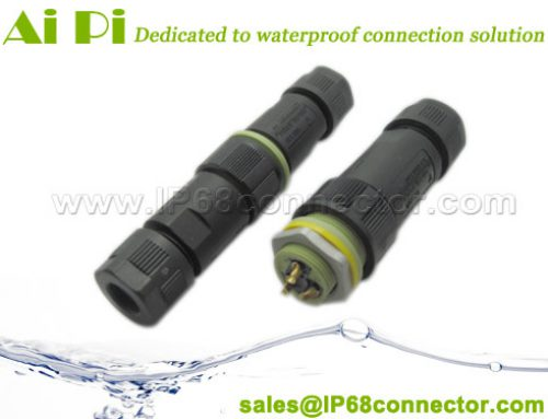 EC-L: IP68 Waterproof Cable Connector