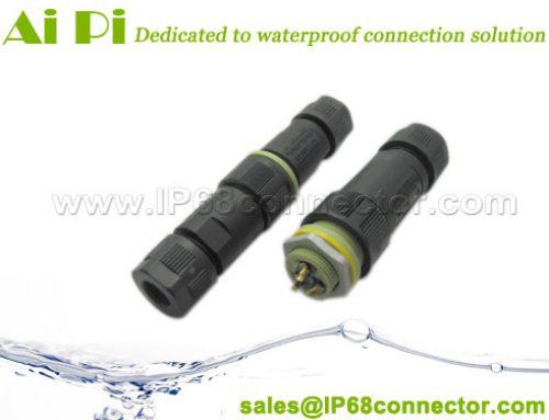 EC-M: IP68 Waterproof Cable Connector