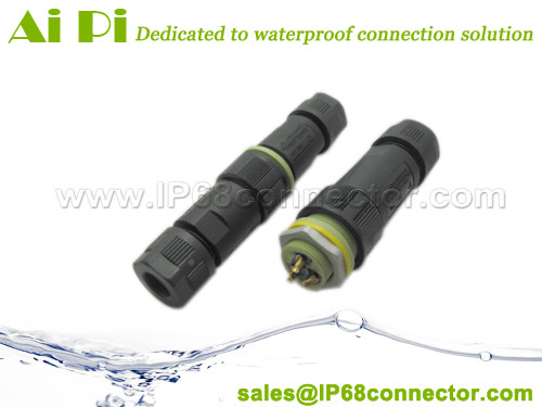 EC-M IP68 Waterproof Cable Connector-w