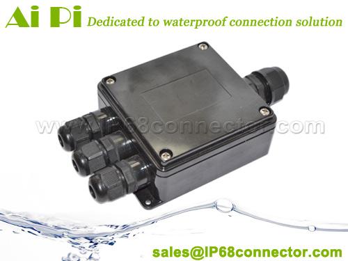 IP65 Waterproof Junction Box - 3 Way