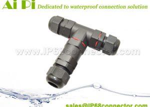 ST-08 IP68 Waterproof T Splitter Connector -w