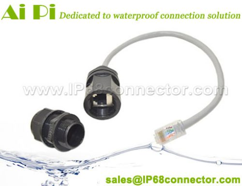 RJ-01: Waterproof RJ45 Connector With Cable