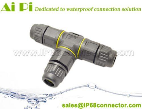 ST-08:IP68 Waterproof T Splitter Connector
