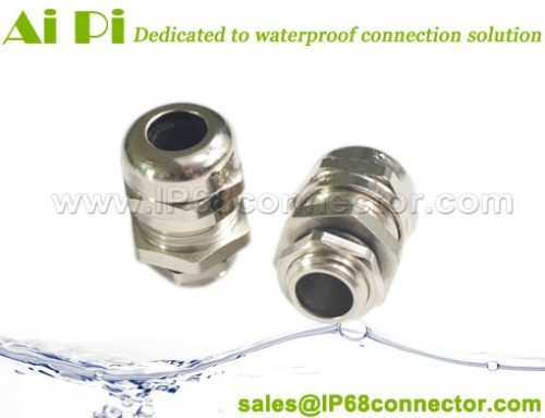JB-04: Waterproof Cable Gland – Nickel Plated Brass