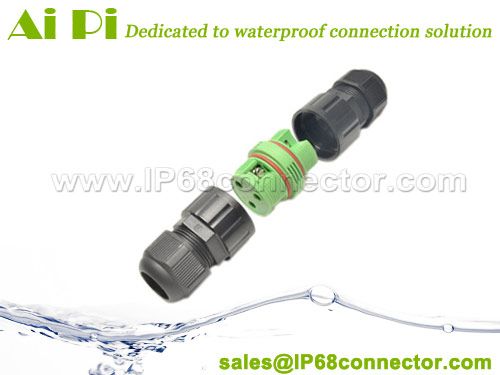 ST-09 IP68 Waterproof Cable Terminal Connector – Screw Type
