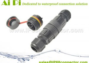ST-10 IP68 Waterproof Cable Connector – Screw Type