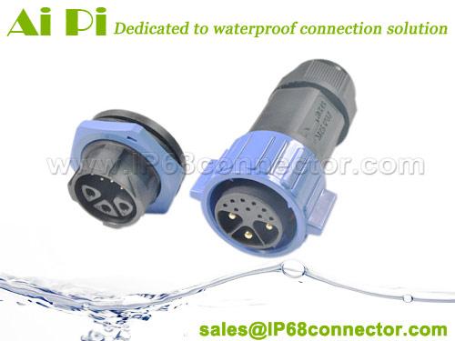 QC-H-Waterproof-Circular-Hybrid-Connector