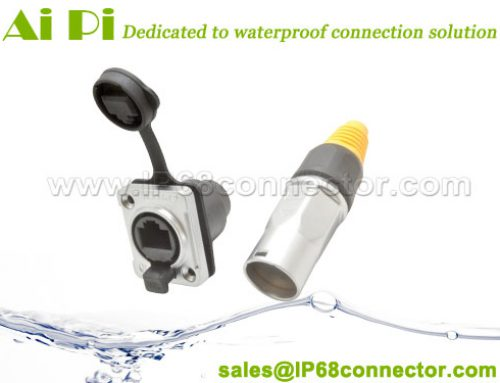 RJ-06: Waterproof RJ45 Signal Connector