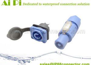 ST-11 Waterproof Power Connector-Panel Mount