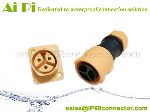 ST-12 Waterproof Panel Mount Connector