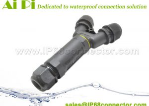ST-14 Waterproof IP68 Y-Type Cable Connector-2